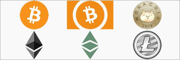 bitFlyerの取り扱い通貨一覧